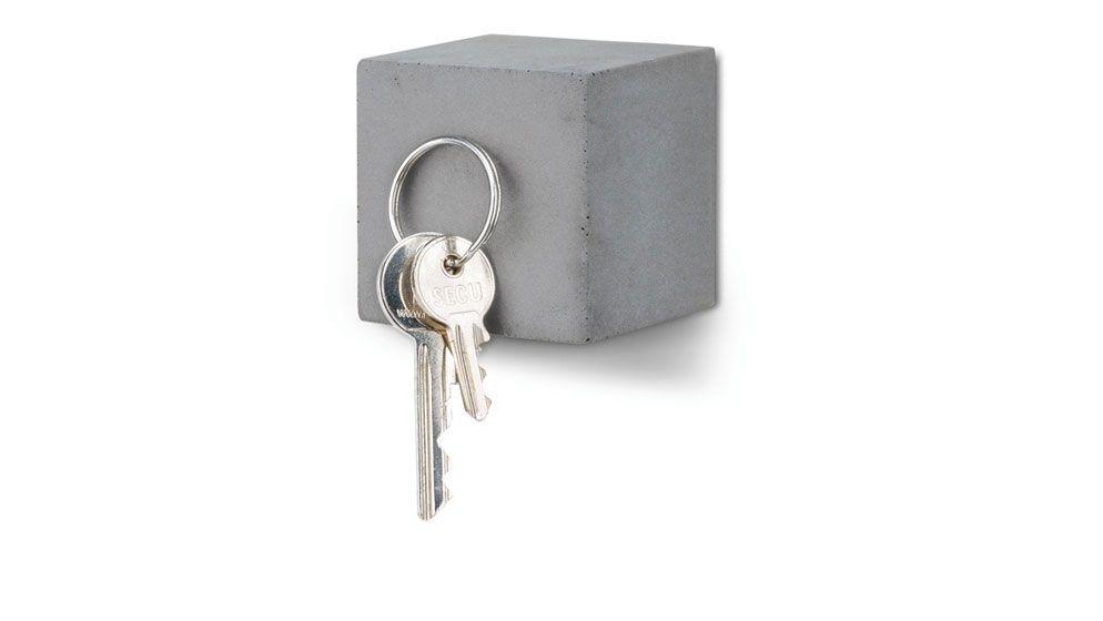 Magnetsicher Schlüsselhalter aus Beton