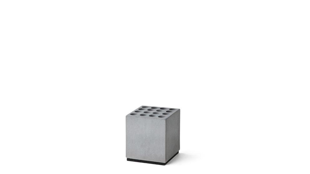 Stiftehalter Big Block aus Beton Korn Produkte Ordnungshelfer