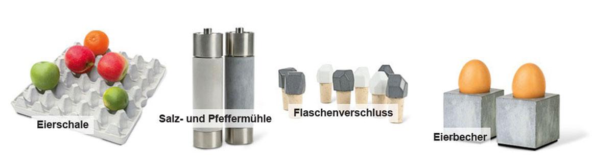 Produkte aus Beton von Jochen Korn
