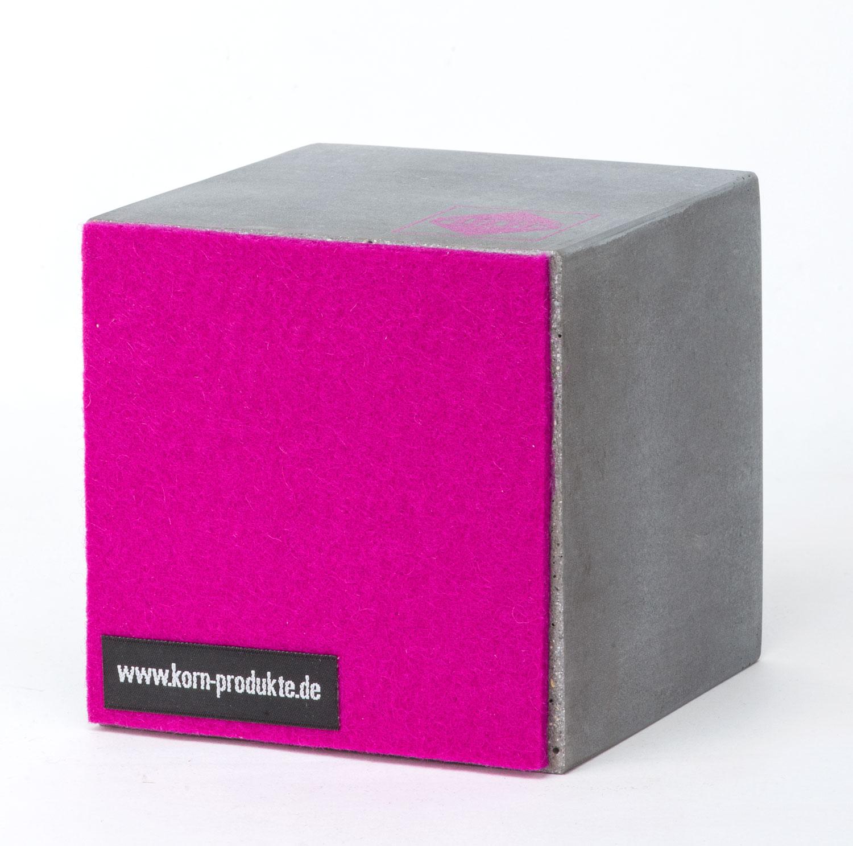 werbemittel aus beton berraschen korn produkte. Black Bedroom Furniture Sets. Home Design Ideas