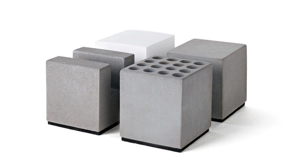 Buro Set Aus Beton Korn Produkte