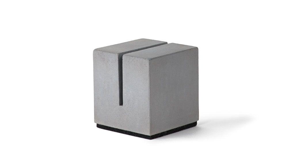 """Kartenhalter """"Block"""" für Menükarten"""