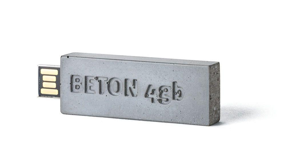 Beton USB Stick / Motiv: Beton